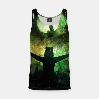 Thumbnail image of Moon Lover Tank Top, Live Heroes