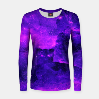 Thumbnail image of Space Lions Women sweater, Live Heroes