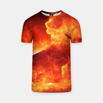 Thumbnail image of Angry Lion T-shirt, Live Heroes