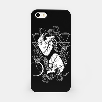Thumbnail image of Valentine's tentacle hearts iPhone Case, Live Heroes