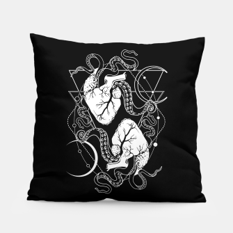 Thumbnail image of Valentine's tentacle hearts Pillow, Live Heroes