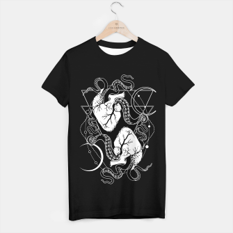 Thumbnail image of Valentine's tentacle heart T-shirt regular, Live Heroes