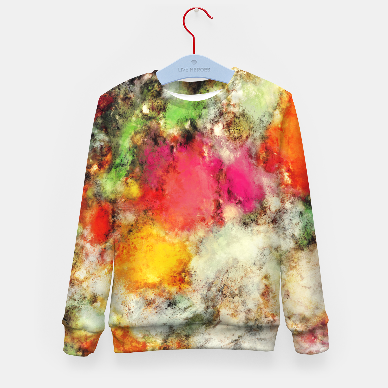 Image of A narrow escape Kid's sweater - Live Heroes