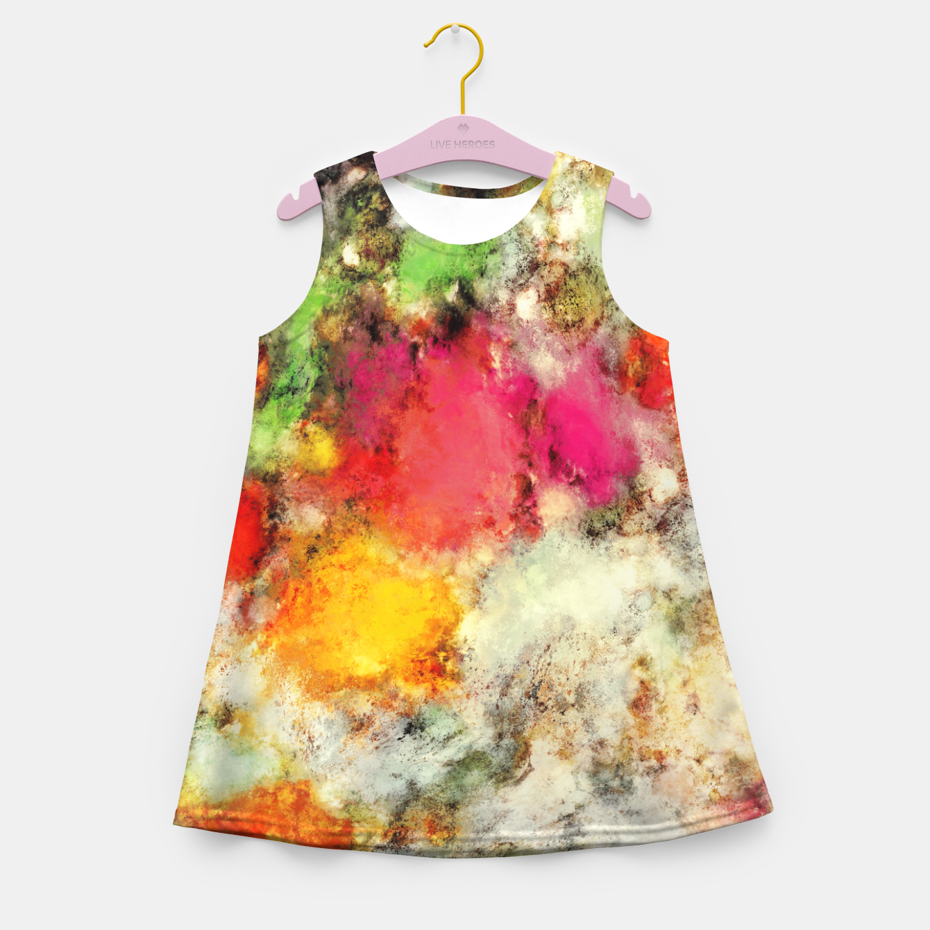 Image of A narrow escape Girl's summer dress - Live Heroes