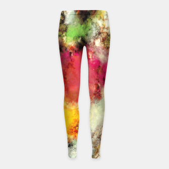 Thumbnail image of A narrow escape Girl's leggings, Live Heroes