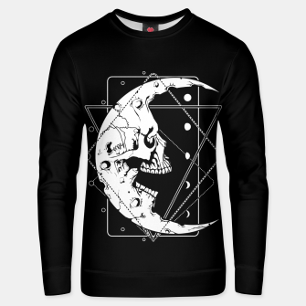 Thumbnail image of MoonSkull Unisex sweater, Live Heroes