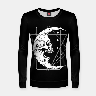 Thumbnail image of MoonSkull Women sweater, Live Heroes