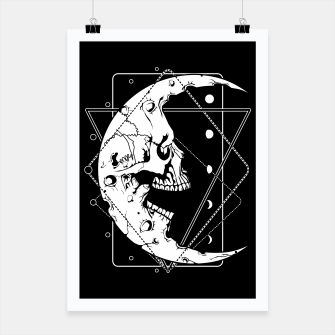 Thumbnail image of MoonSkull Poster, Live Heroes