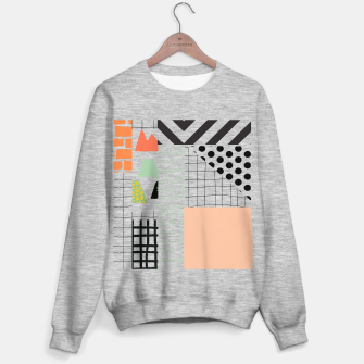minimal abstract coral Sweater regular thumbnail image