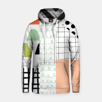 minimal abstract coral Hoodie thumbnail image