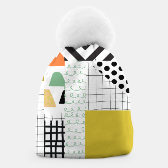 Miniature de image de minimal abstract yellow Beanie, Live Heroes