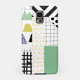 Thumbnail image of minimal abstract green Samsung Case, Live Heroes