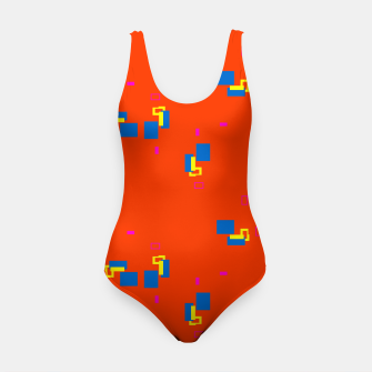 Thumbnail image of simple geometric pattern rbi Swimsuit, Live Heroes