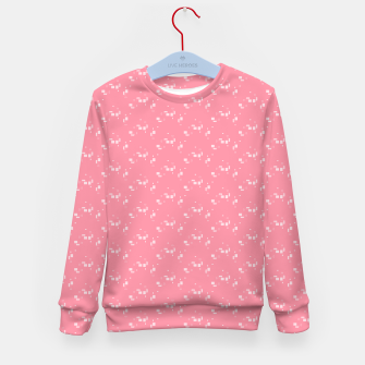 Thumbnail image of small simple geometric pattern pwi Kid's sweater, Live Heroes