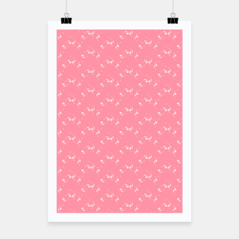 Thumbnail image of small simple geometric pattern pwi Poster, Live Heroes
