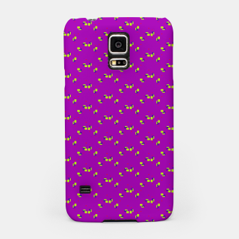 Thumbnail image of small simple geometric pattern rb Samsung Case, Live Heroes