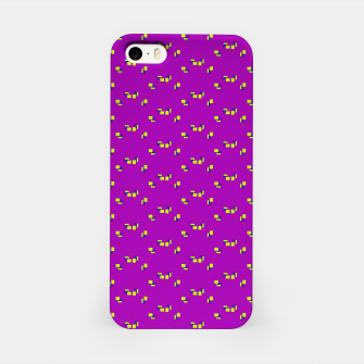Thumbnail image of small simple geometric pattern rb iPhone Case, Live Heroes