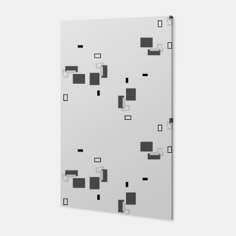 Thumbnail image of simple geometric pattern bw Canvas, Live Heroes