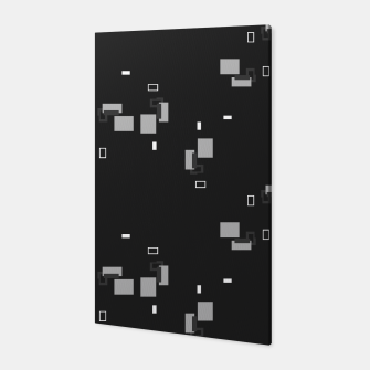 Thumbnail image of simple geometric pattern bwi Canvas, Live Heroes