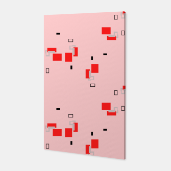 Thumbnail image of simple geometric pattern 2s Canvas, Live Heroes