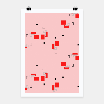 Thumbnail image of simple geometric pattern 2s Poster, Live Heroes