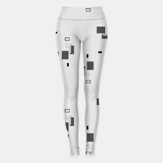Thumbnail image of simple geometric pattern bw Leggings, Live Heroes