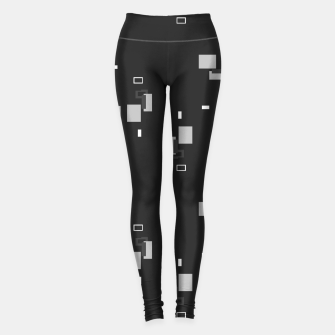 Thumbnail image of simple geometric pattern bwi Leggings, Live Heroes