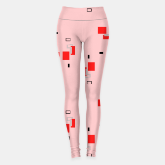 Thumbnail image of simple geometric pattern 2s Leggings, Live Heroes
