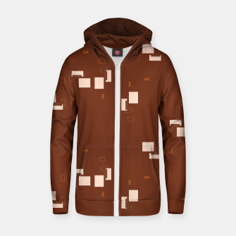simple geometric pattern co Zip up hoodie imagen en miniatura