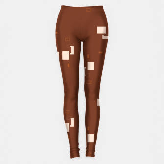 simple geometric pattern co Leggings imagen en miniatura