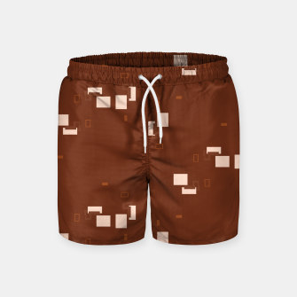 Thumbnail image of simple geometric pattern co Swim Shorts, Live Heroes