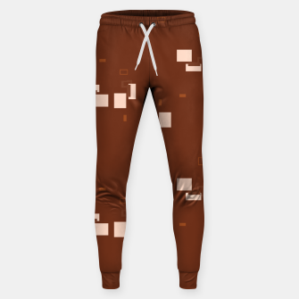 Thumbnail image of simple geometric pattern co Sweatpants, Live Heroes