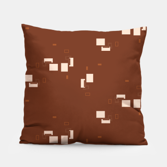 Thumbnail image of simple geometric pattern co Pillow, Live Heroes