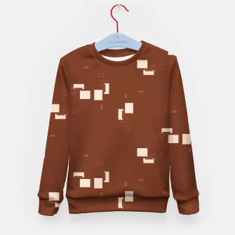 Thumbnail image of simple geometric pattern co Kid's sweater, Live Heroes