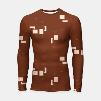 Thumbnail image of simple geometric pattern co Longsleeve rashguard , Live Heroes