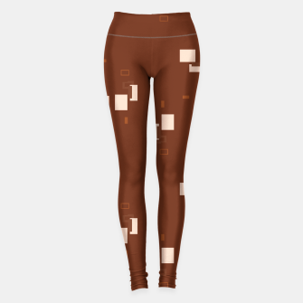 Thumbnail image of simple geometric pattern co Leggings, Live Heroes