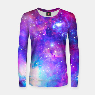Thumbnail image of Into A Galaxy Women sweater, Live Heroes