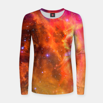 Thumbnail image of Rainbow Clouds Women sweater, Live Heroes