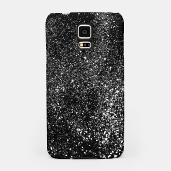 Miniature de image de Black Night Glitter #1 #shiny #decor #art Handyhülle für Samsung, Live Heroes