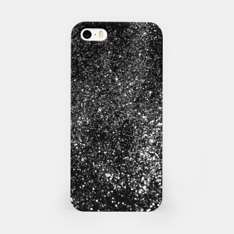 Miniaturka Black Night Glitter #1 #shiny #decor #art iPhone-Hülle, Live Heroes