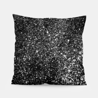 Thumbnail image of Black Night Glitter #1 #shiny #decor #art Kissen, Live Heroes