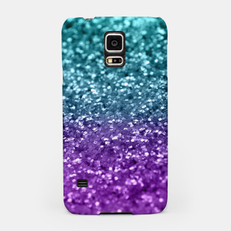 Thumbnail image of Purple Teal MERMAID Girls Glitter #1 #shiny #decor #art  Handyhülle für Samsung, Live Heroes