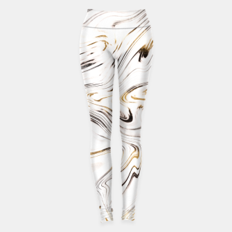 Miniature de image de Liquid Gold Silver Black Marble #1 #decor #art  Leggings, Live Heroes