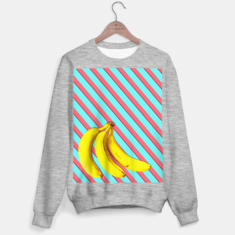 Thumbnail image of Bananas and stripes Sweater regular, Live Heroes