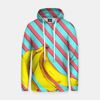 Thumbnail image of Bananas and stripes Hoodie, Live Heroes