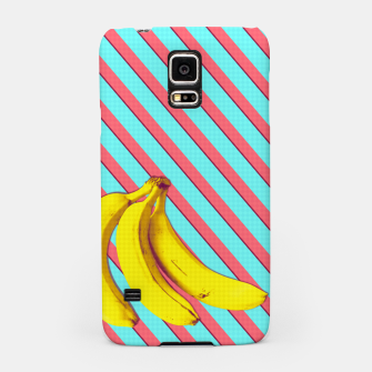 Thumbnail image of Bananas and stripes Samsung Case, Live Heroes
