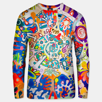 Thumbnail image of BIOMACHINE Unisex sweater, Live Heroes