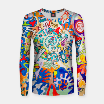 Thumbnail image of BIOMACHINE Women sweater, Live Heroes