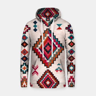 Thumbnail image of Traditional Boho Moroccan Anthropologie Artwork Hoodie, Live Heroes