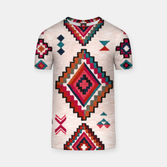 Thumbnail image of Traditional Boho Moroccan Anthropologie Artwork T-shirt, Live Heroes